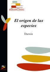 El origen de las especies (Anotado)