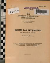 Income Tax Information: Rules and regulations IV