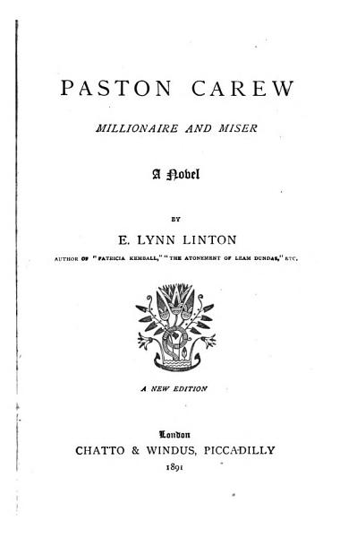 Paston Carew PDF