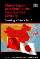 China Japan Relations in the Twenty first Century PDF