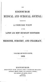 The Edinburgh Medical and Surgical Journal: Volume 79