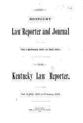 The Kentucky Law Reporter: Volume 4