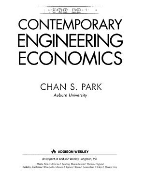 Contemporary Engineering Economics PDF
