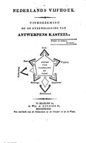 Nederlands vifhoek: Uitboezeming bij de overweldiging van Antwerpens kasteel