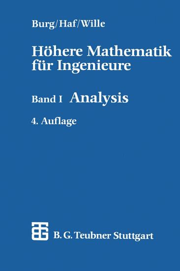 H  here Mathematik f  r Ingenieure PDF