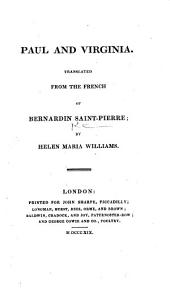 Paul and Virginia. Translated ... by Helen Maria Williams. [With plates after Richard Westall.]