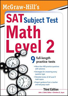 McGraw Hill s SAT Subject Test Math Level 2  3rd Edition