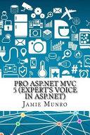 Pro Asp net Mvc 5 Expert s Voice in Asp net