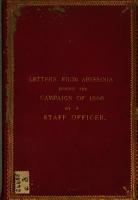 Letters from Abyssinia during the campaign of 1868  by a staff officer   Scott    PDF
