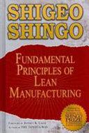 Fundamental Principles of Lean Manufacturing