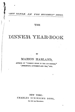 The Dinner Year-book