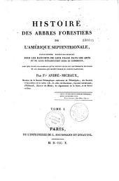 Histoire des arbres forestiers de l'Amérique septentrionale
