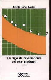 Un Siglo de Devaluaciones Del Peso Mexicano