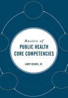 Basics of Public Health Core Competencies PDF