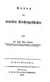 Anbau der neuesten kirchengeschichte: Urkunden über die neueste einrichtung der Römisch-katholischen kirche im königreiche Polen