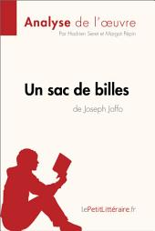 Un sac de billes de Joseph Joffo (Analyse de l'oeuvre): Comprendre la littérature avec lePetitLittéraire.fr