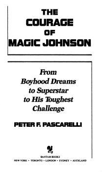 The Courage of Magic Johnson PDF