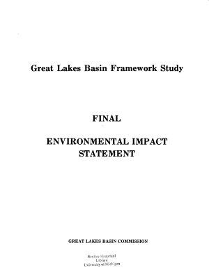 Great Lakes Basin Framework Study PDF