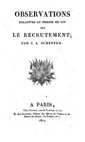 Observations Relatives Aub Projet De Loi Sur Le Recrutement