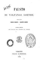 Fausto di Volfango Goethe
