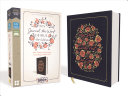 NIV  Journal the Word Bible for Women  Cloth Over Board  Navy  Red Letter Edition  Comfort Print