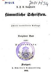 A. F. E. Langbein's Sämmtliche Schriften: Der Ritter der Wahrheit, Bände 13-14