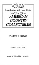 The Official Identification and Price Guide to American Country Collectibles