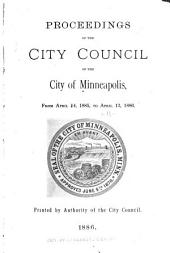 Proceedings of the City Council of the City of Minneapolis, Minnesota from: Volume 11