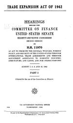 Trade Expansion Act of 1962