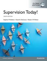 Supervision Today   Global Edition PDF