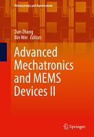 Advanced Mechatronics and MEMS Devices II PDF