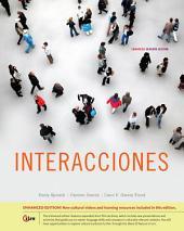 Interacciones, Enhanced: Edition 7