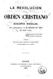 La revolución y el orden cristiano