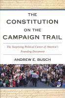 The Constitution on the Campaign Trail PDF
