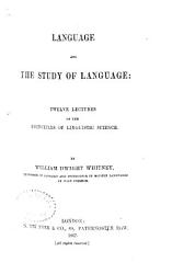 Language And The Study Of Language Book PDF