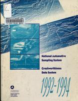 National Automotive Sampling System  Crashworthiness Data System PDF