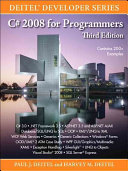 C# 2008 for Programmers
