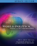 World Politics  Trends and Transformations  2011 2012 Update Edition PDF