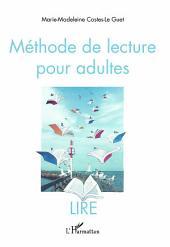 Méthode de lecture pour adultes: LIRE