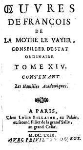 Oeuvres: Volume14