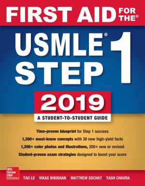 First Aid for the USMLE Step 1 2019  Twenty ninth edition