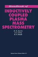 Handbook of Inductively Coupled Plasma Mass Spectrometry