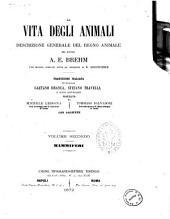 La vita degli animali descrizione generale del regno animale [di] A. E. Brehm: Mammiferi, Volume 2