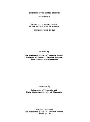 Inventory of the Church Archives of Wisconsin PDF