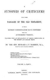 pt. 1. Genesis. Exodus. Leviticus