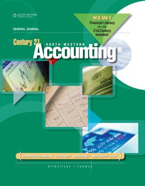 Century 21 Accounting  General Journal  2012 Update PDF