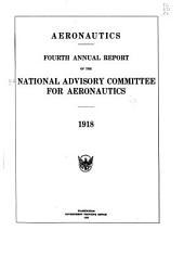 Annual Report of the National Advisory Committee for Aeronautics: Volume 4