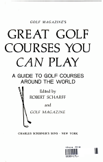 Golf Magazine's Great Golf Courses You Can Play
