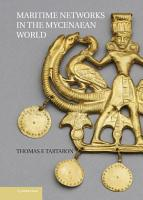 Maritime Networks in the Mycenaean World PDF