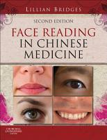 Face Reading in Chinese Medicine   E Book PDF